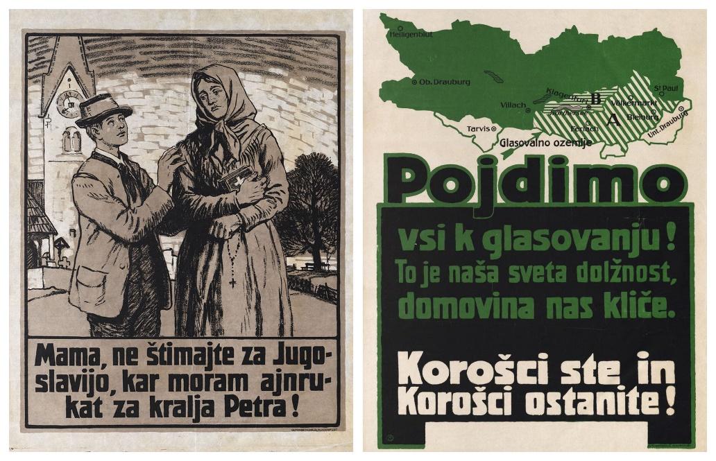 Image result for zgodovinske povezave avstrijska koroška in slovenija slike